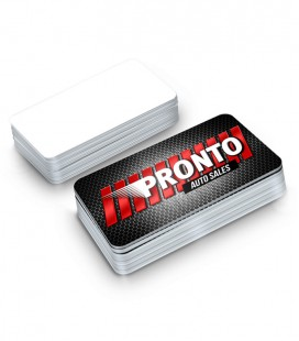 Business Cards With Rounded Corners - 1 side