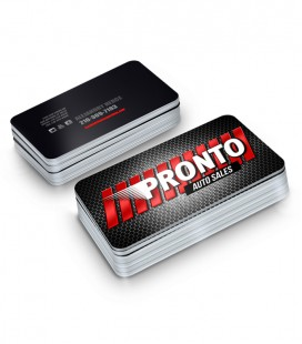 2 Sides Business Cards With Rounded Corners