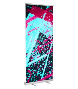 Banner Stand Retractable 33x81""